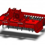 Vertical Power Harrow
